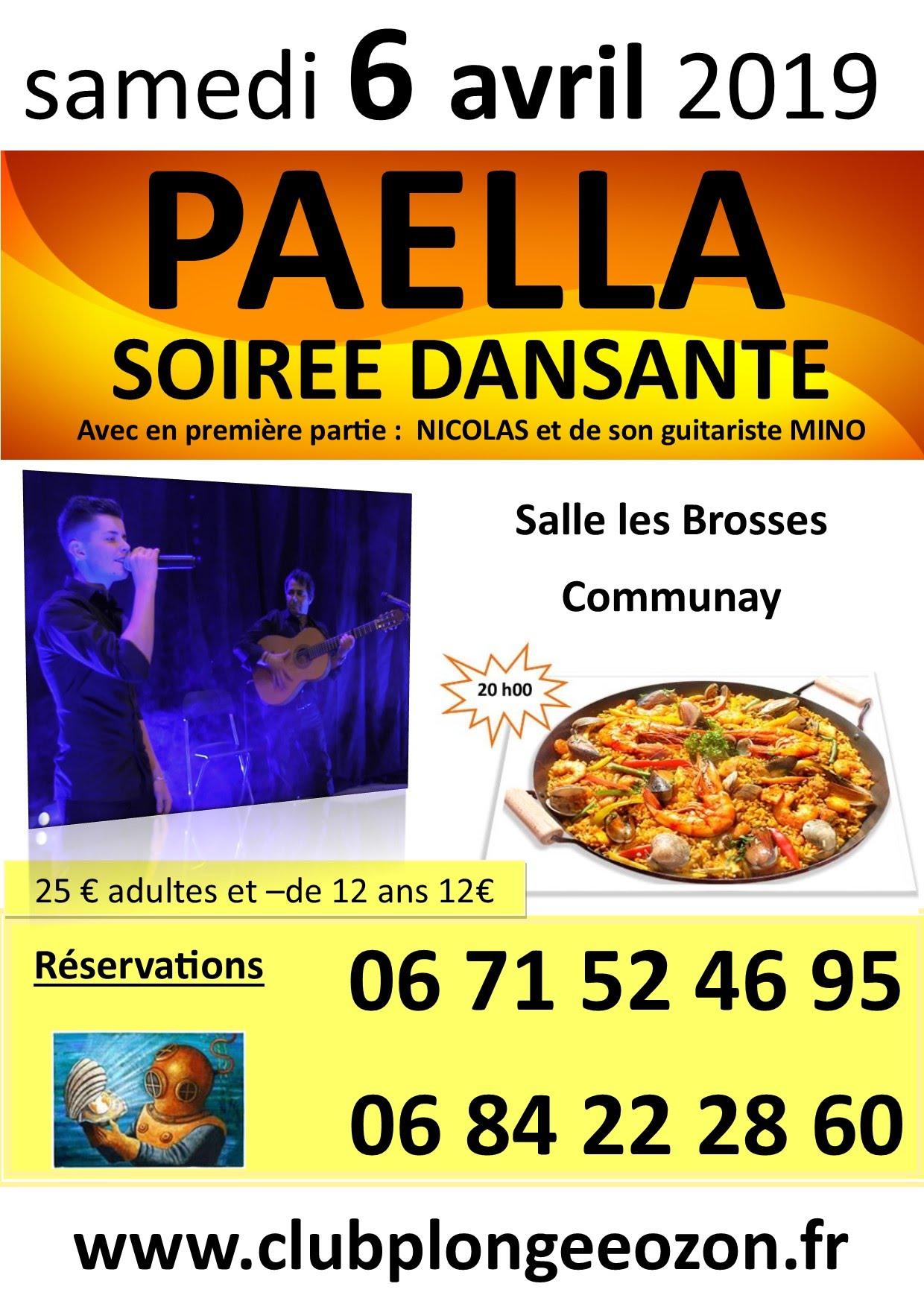 Soirée Paëlla dansante